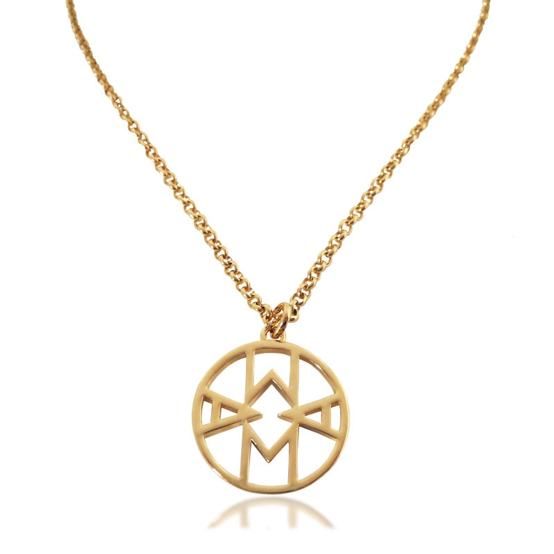 Mama Charm Necklace Gold Plated - Hoochie Mama