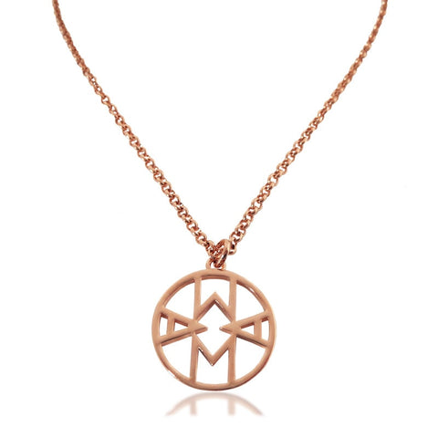 Mama Necklace Rose Gold Plated - Hoochie Mama