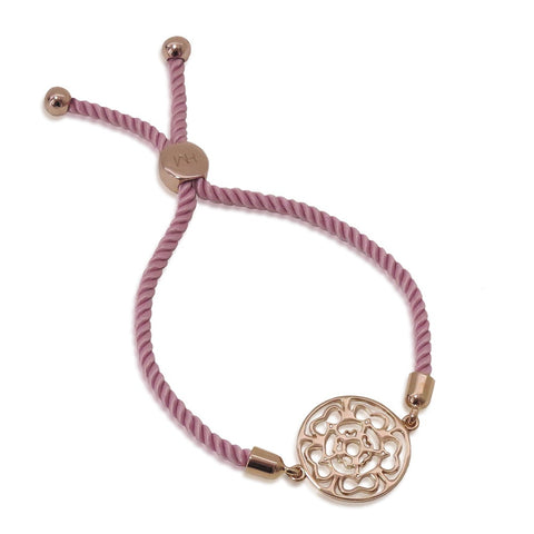 Rose Medallion Friendship Bracelet