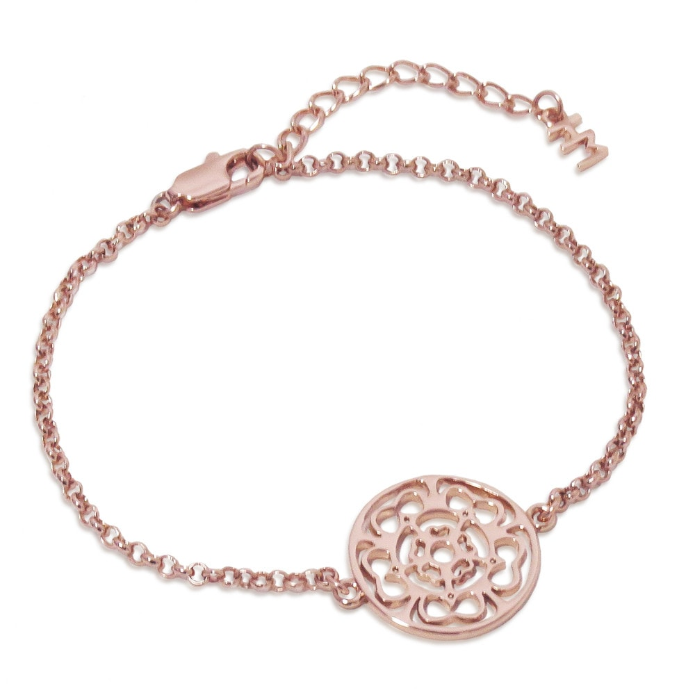 Rose Medallion Bracelet