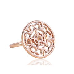 Rose Medallion Ring