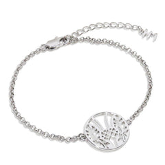 Thistle Medallion Bracelet