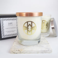Violet & Sweetpea Mama Candle