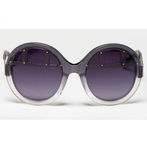 Mosi Grey Gradient Sunglasses
