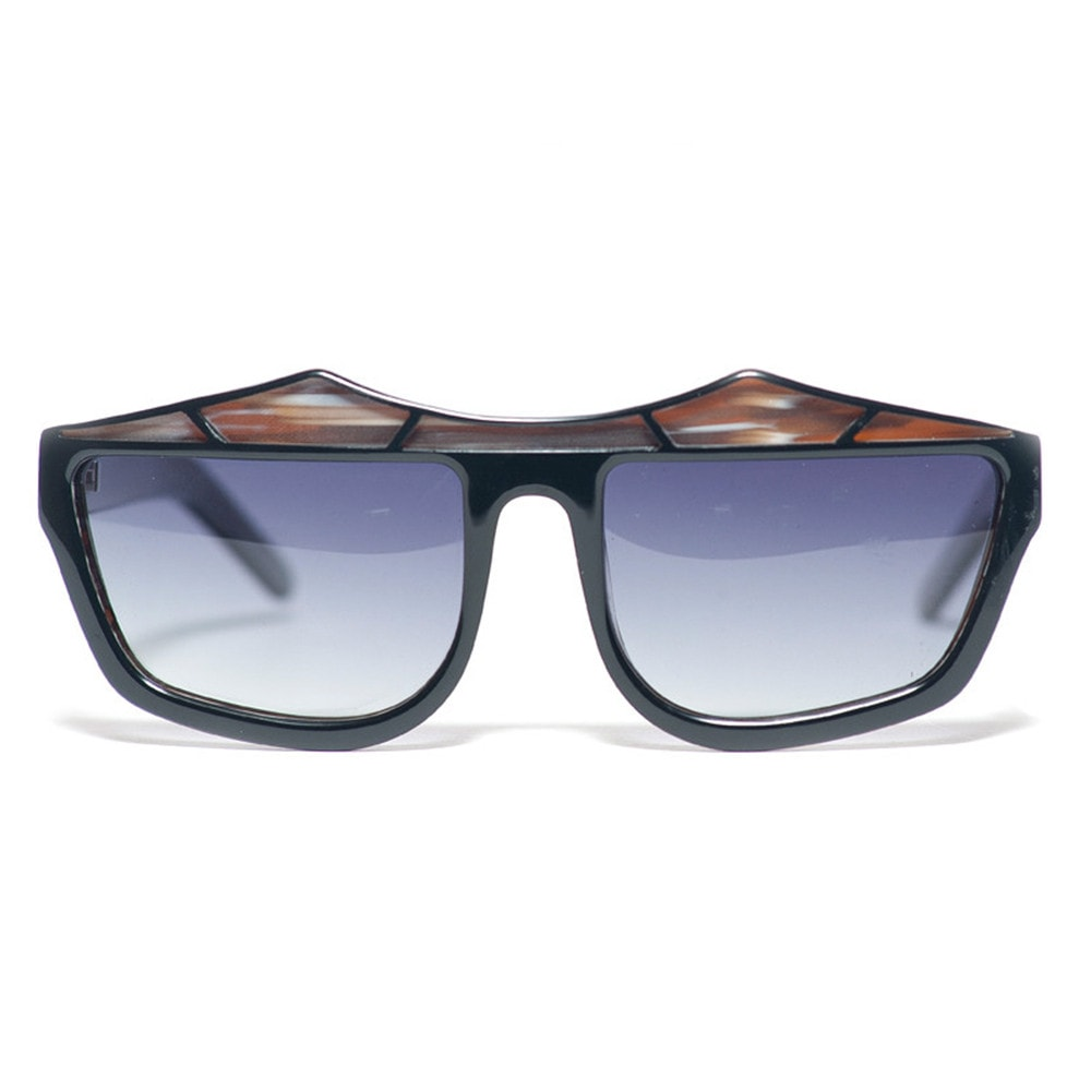 Rainy Days Black / Woodgrain Sunglasses