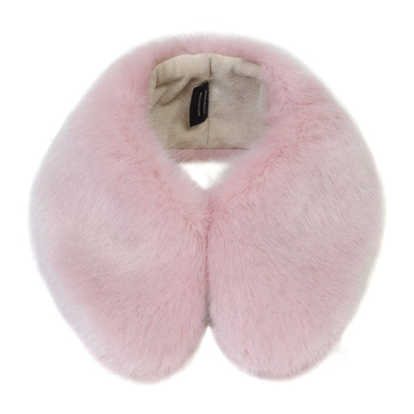 Helen Moore Candy Floss Faux Fur Shirt Collar