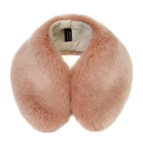 Dusky Faux Fur Shirt Collar