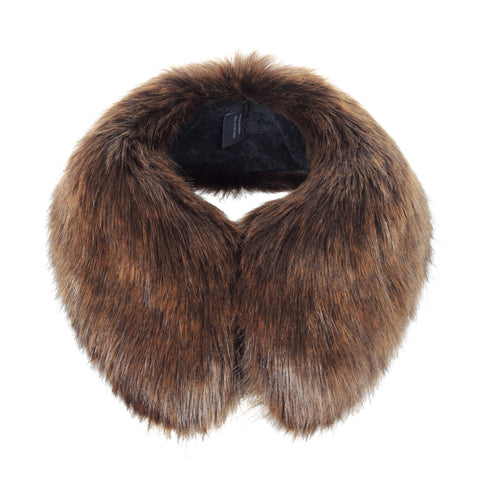 Golden Bear Faux Fur Shirt Collar