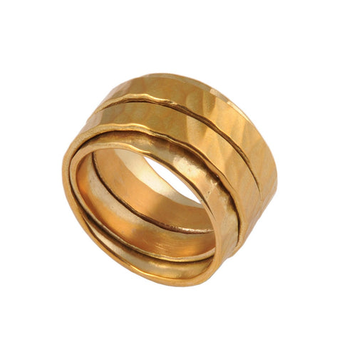 Gold Terra Wrap Ring
