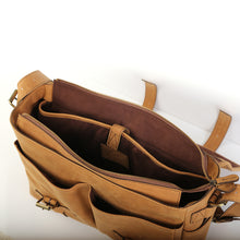 Load image into Gallery viewer, Labrador Messenger Bag in Tan - Wiesnwitz