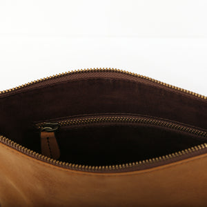 Clutch Pouch in Tan - Wiesnwitz