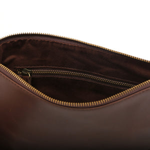 Clutch Pouch in Chestnut - Wiesnwitz