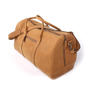 Mastiff Travel Bag in Tan - Wiesnwitz