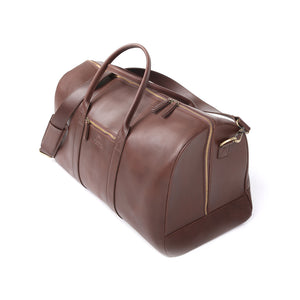Mastiff Travel Bag in Chestnut - wiesnwitz