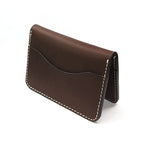 Card Wallet in Chestnut - Wiesnwitz