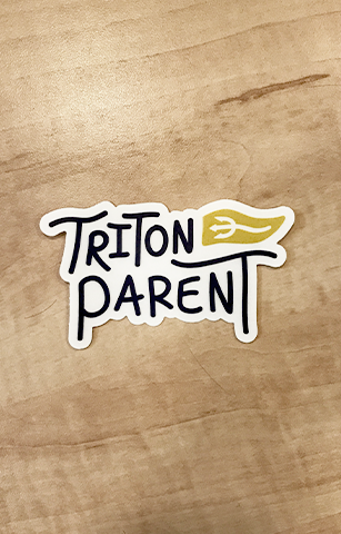 Triton Parent Sticker
