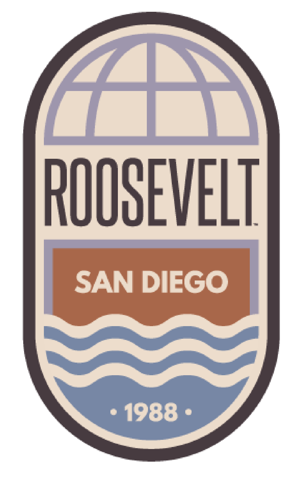 ERC/Roosevelt Sticker