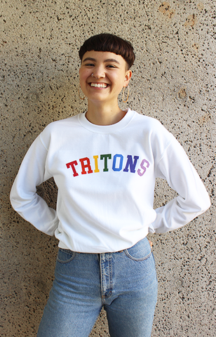Rainbow Tritons Sweater