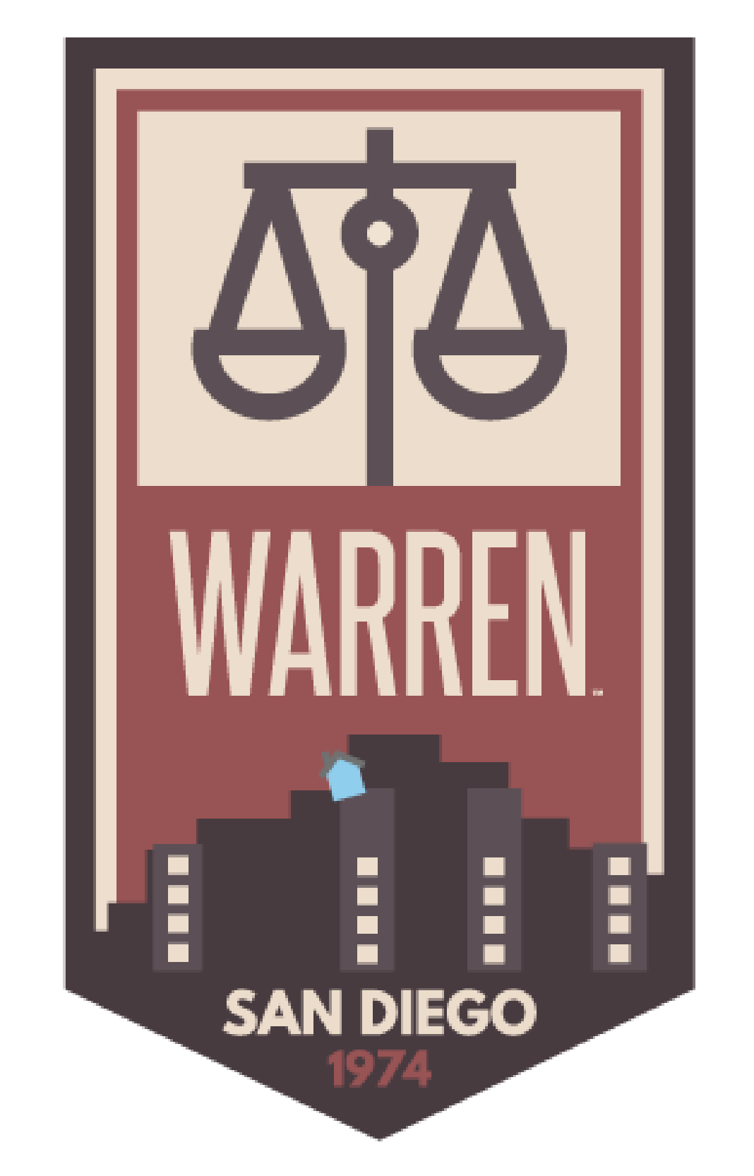 Warren Sticker