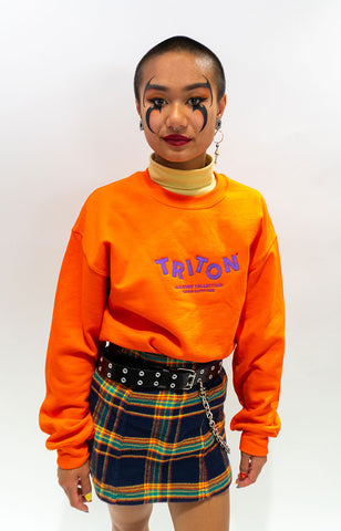 Orange Rainbow Triton Sweater