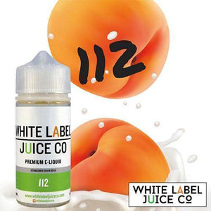 112 - 100ml from White Label Juice Co. at MaxVaping
