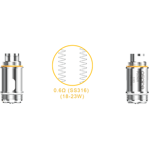 Aspire PockeX Coils (5 Pack)  - MaxVaping