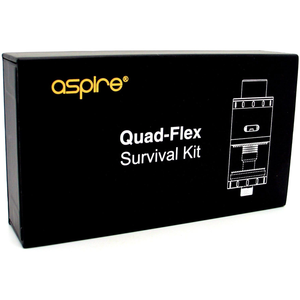 Aspire Quad-Flex Survival Kit at MaxVaping