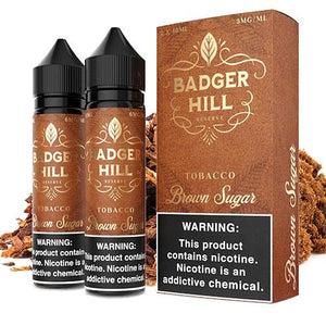 Badger Hill Reserve Brown Sugar 0mg - 120ml by Verdict Vapors at MaxVaping