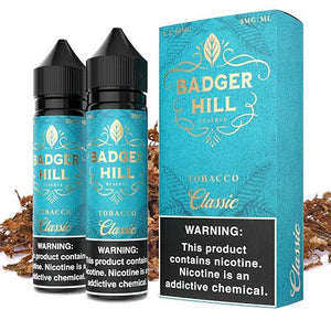 Badger Hill Reserve Classic 0mg - 120ml by Verdict Vapors at MaxVaping
