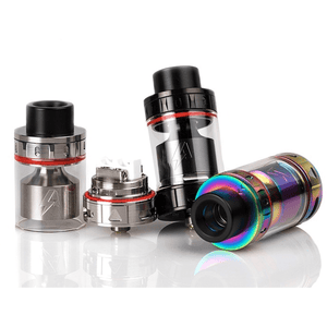 Intrepid RTA - Single and Dual Ceramic Airflow Silver - MaxVaping