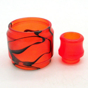 SMOK TFV8 Big Baby Blitz Resin Replacement Tank and Tip Orange - MaxVaping