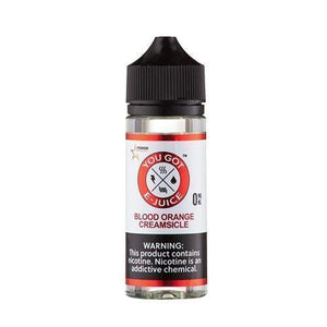 Blood Orange Creamsicle 0mg - 120ml by You Got e-Juice at MaxVaping