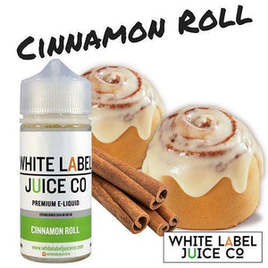 White Label Juice Co. Cinnamon Roll - 100ml - MaxeJuice