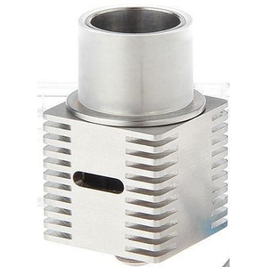 Machinarium Cube RDA Rebuildable Dripping Atomizer Silver - MaxVaping