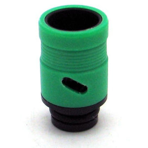 Adjustable Airflow Drip Tip - Delrin, Acrylic Green - MaxVaping