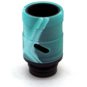 Adjustable Airflow Drip Tip - Delrin, Acrylic Green Swirl - MaxVaping