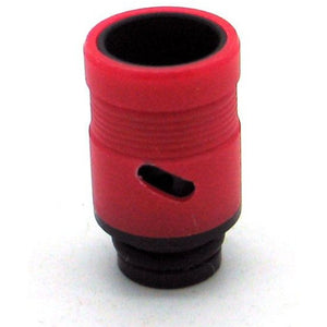 Adjustable Airflow Drip Tip - Delrin, Acrylic Red - MaxVaping