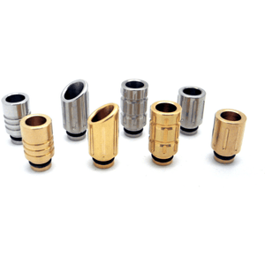 Wide Bore, Grooved Drip Tips  MaxVaping - 1