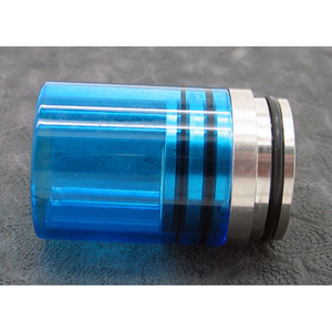 Hurricane II Glass Drip Tip for TOBH 22mm-Gold Vap-MaxVaping