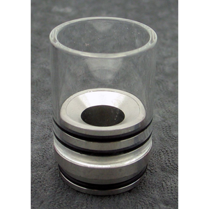 Hurricane II Glass Drip Tip for TOBH 22mm  - MaxVaping