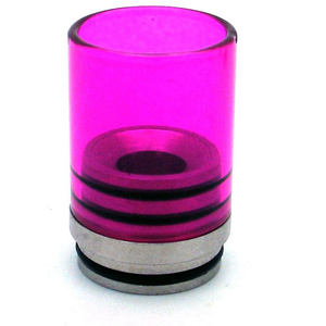Hurricane II Glass Drip Tip for TOBH 22mm Purple - MaxVaping