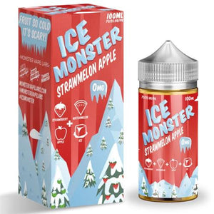 Ice Monster Strawmelon Apple 0mg - 100ml by Monster Vape Labs at MaxVaping