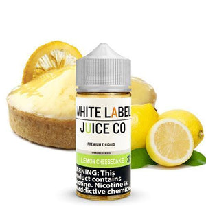 White Label Juice Co. Lemon Cheesecake - 100ml - MaxeJuice