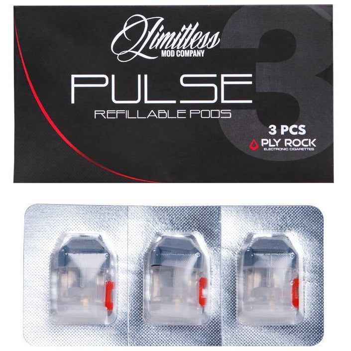 Limitless LMC Pulse Ply Rock Refillable Pods  - MaxVaping