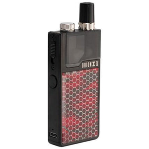 Lost Vape Orion Q Black with Red Shadow - MaxVaping