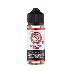 Papaya Peach on Ice 0mg - 120ml by You Got e-Juice at MaxVaping