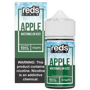 Reds Apple Watermelon Iced 0mg - 60ml by 7 Daze at MaxVaping