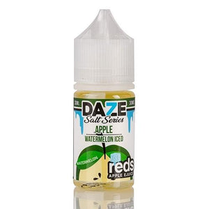 Reds Apple Watermelon Iced 30mg - 30ml by 7 Daze at MaxVaping