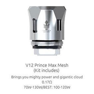 SMOK TFV12 Prince Tank Replacement Coils V12 Prince-Max Mesh by SMOK at MaxVaping