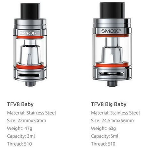 SMOK TFV8 Big Baby Beast Tank Kit 5ml  - MaxVaping